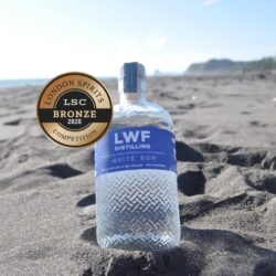 White Rum Distilled in NZ