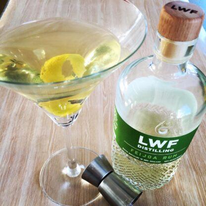 Feijoa Rum Martini