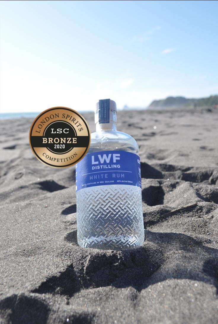 White Rum Distilled in NZ