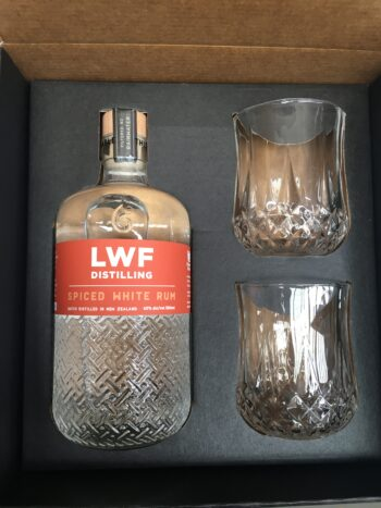 Spiced White rum in box