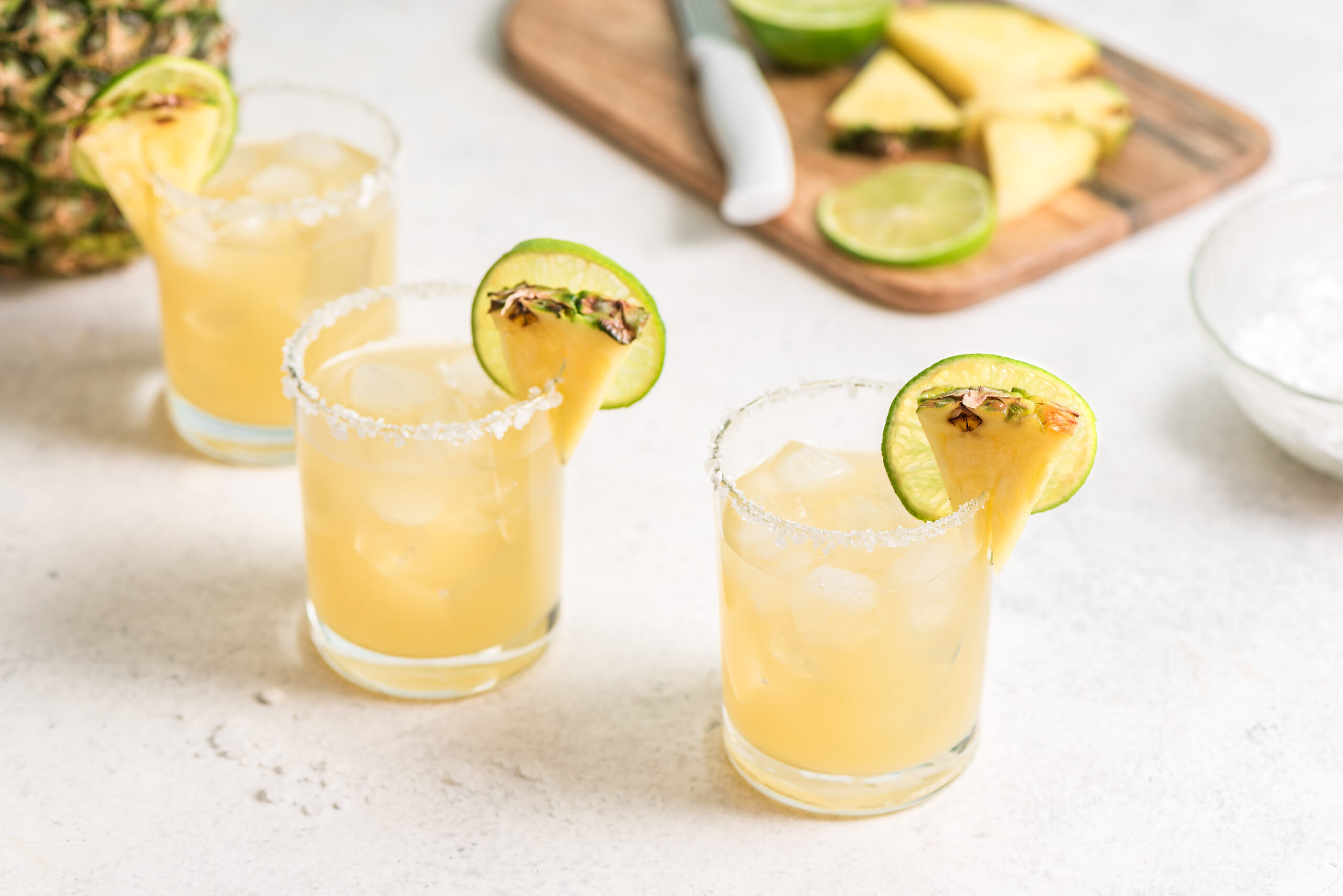 spiced white rum cocktail