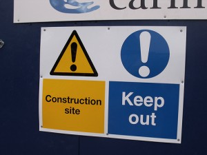 Construction Sign by ell_brown of flickr