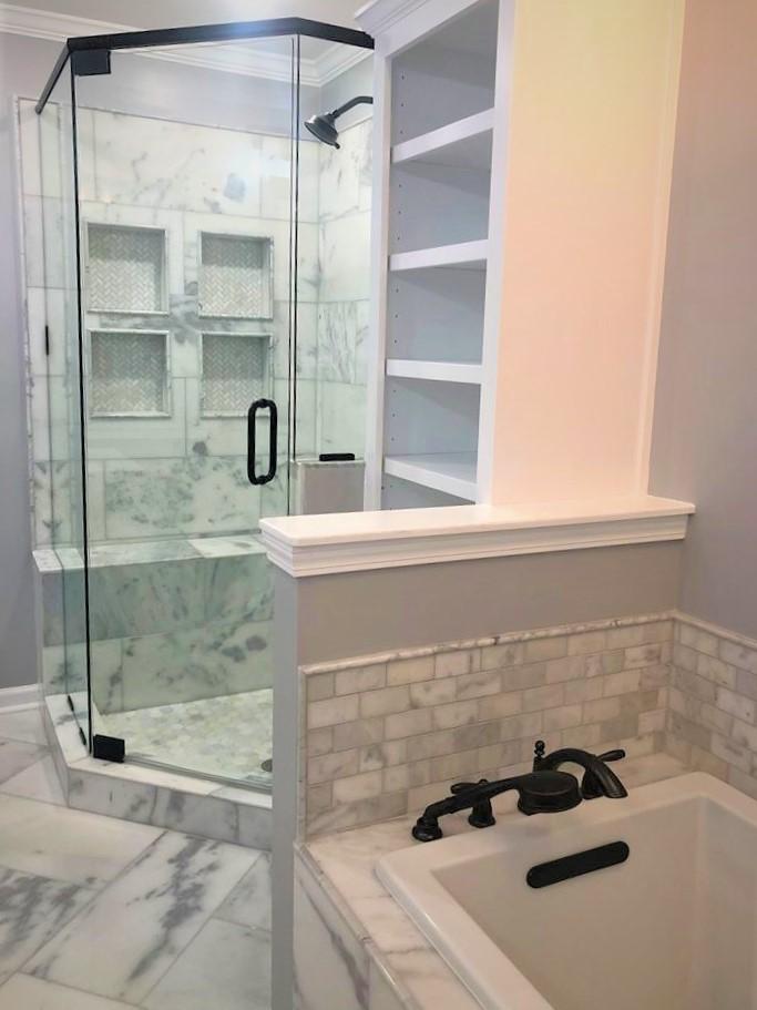 shower&tub
