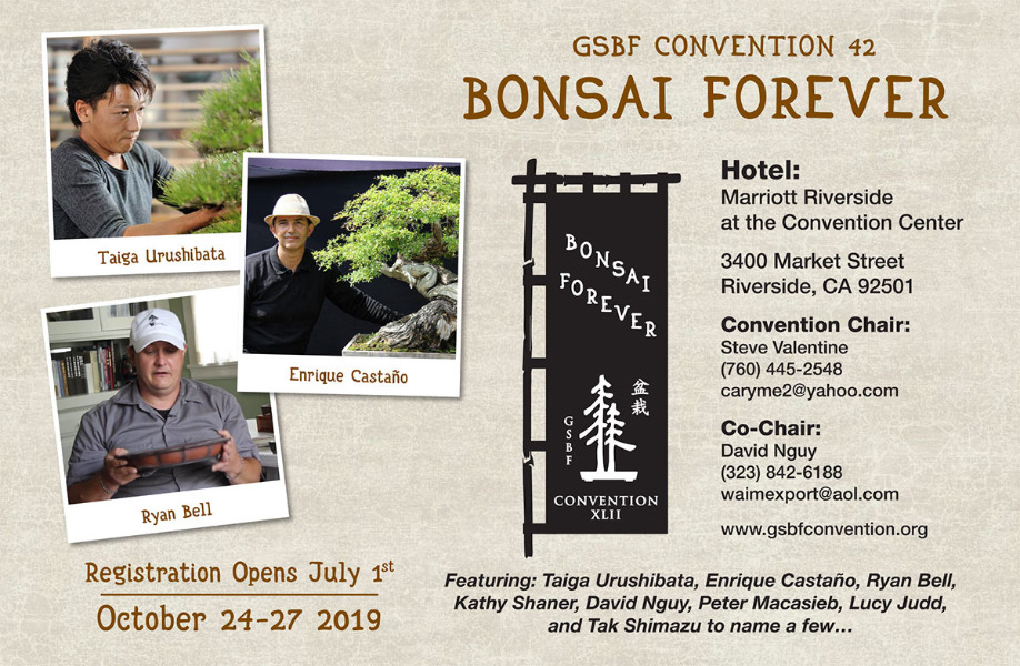 October | GSBF Convention, Riverside CA