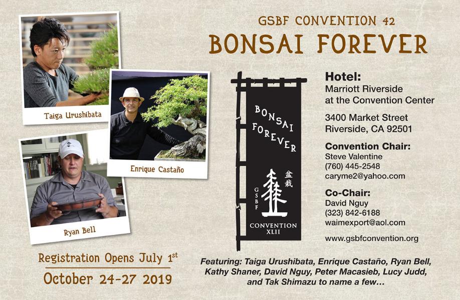 October | GSBF Convention, Riverside CA
