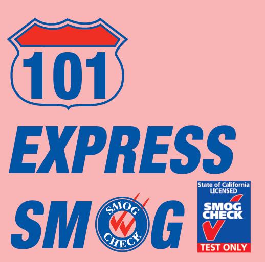 101 Express Smog Petaluma