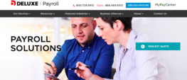 Deluxe Payroll Review - Payroll Solutions