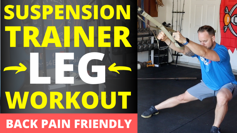 Easy Suspension Leg Workout - The only 5 exercises you need!