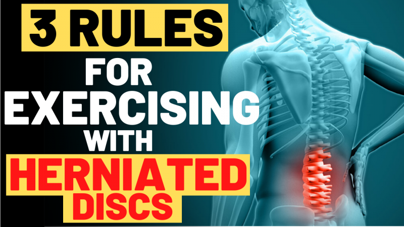 exercising with herniated disc,exercising with herniated disc in lower back,exercising with herniated lumbar discs,exercise to avoid with herniated disc,herniated disc,herniated disc exercises,disc herniation,herniated disk,bulging disc,bulging disc exercises,slipped disc,spinal disc herniation (disease or medical condition),back pain,lower back pain,sciatica