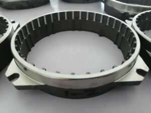 Shredder ring for grinder pump