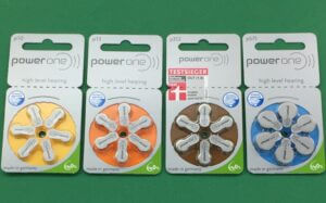 We Carry Power One Hearing Aid Batteries