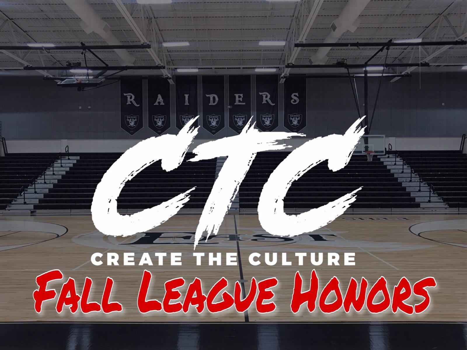 CTC Fall League Honors