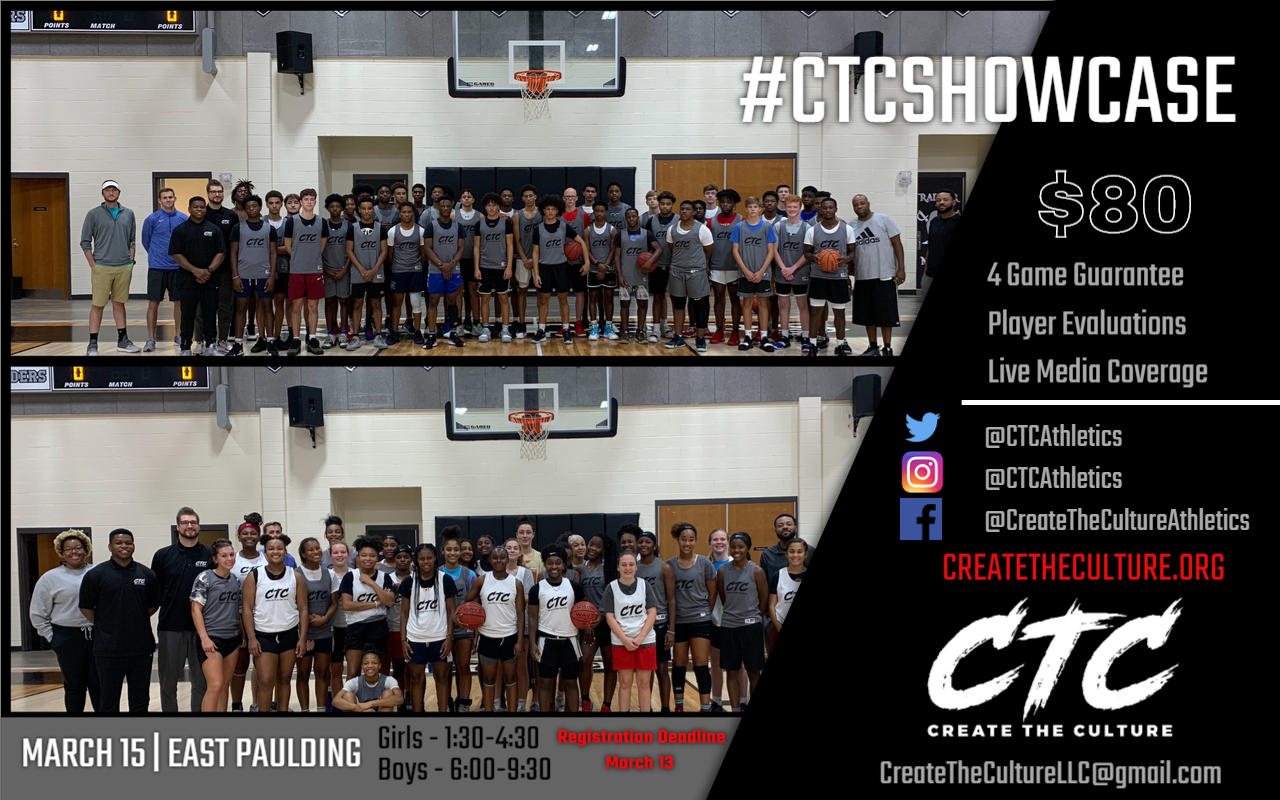CTC Postseason Showcase Graphic
