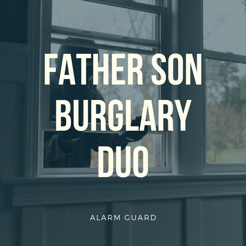 2019's Disturbing Trend: Father-Son Burglary Duos