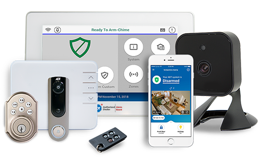 Residential Security Systems & Monitoring Packages