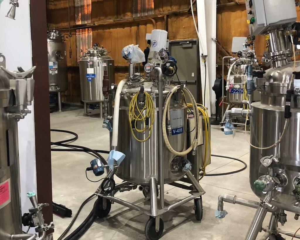 Van Grow Biotechnology | Fermentation Tank