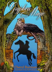 Book three cover, Gryphon Magic