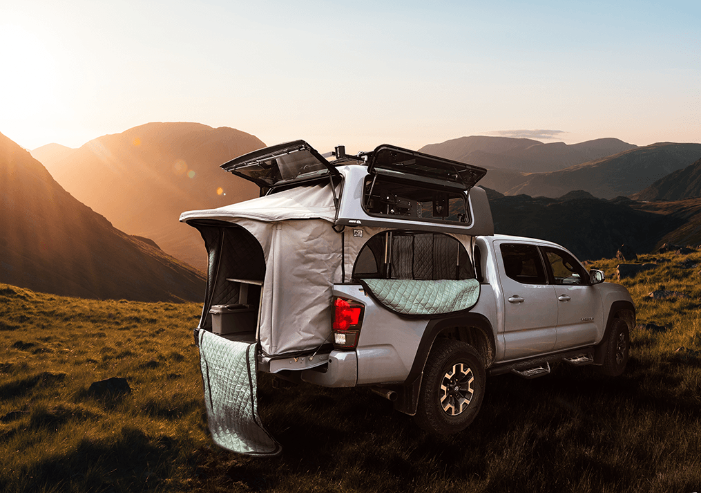 Get Outdoors With TopperLift. Experience Truck Camping At A Whole New Level, Live The Van Life Dream.
