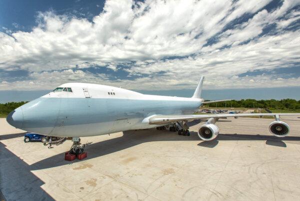 Exterior of Boeing 747 edited