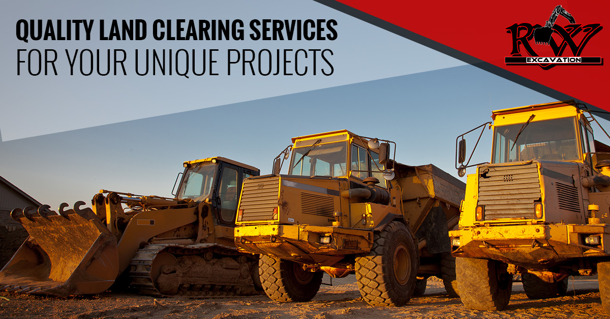 Quality Land Clearing Services For Your Unique Projects