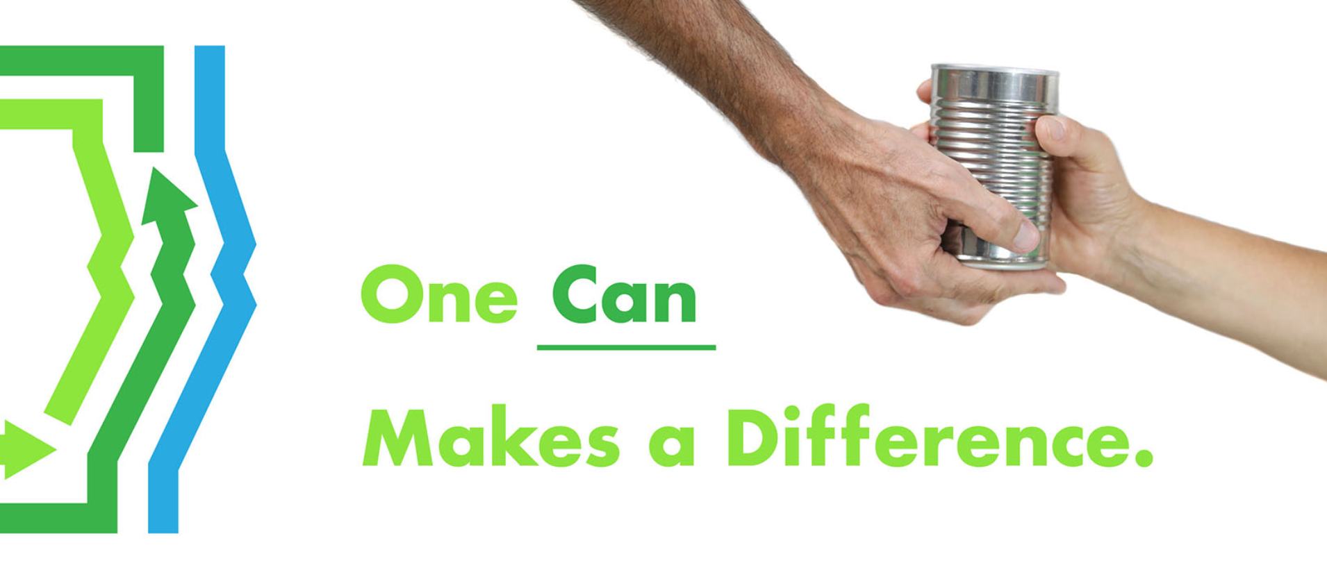 one can of food makes difference