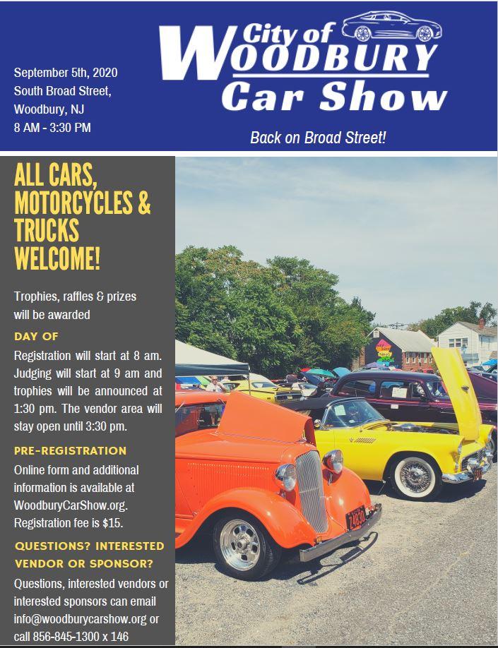 2020 Car Show flyer