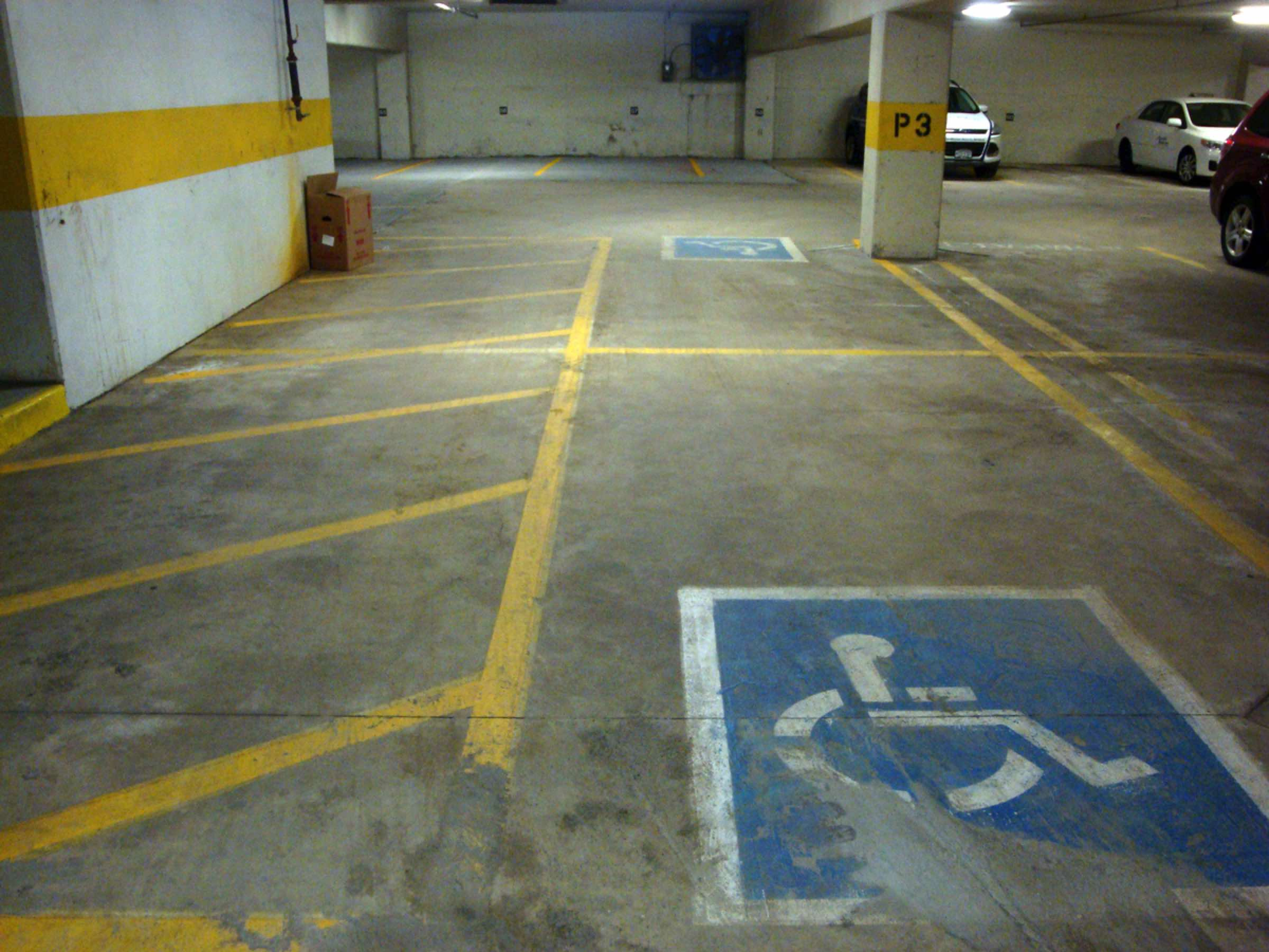 Parking Lot Paint Number Spots