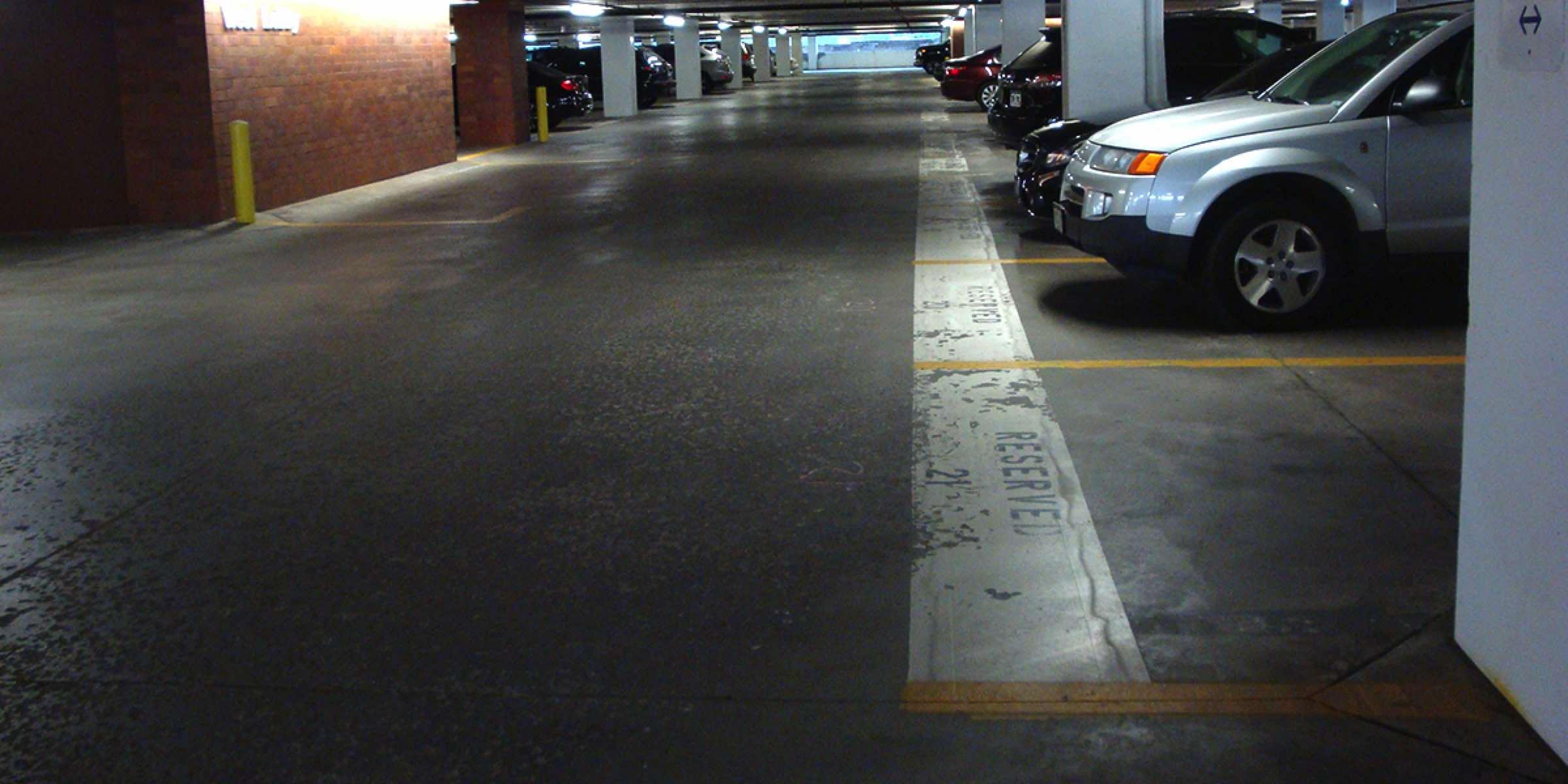 Parking Lot Indoor Garage