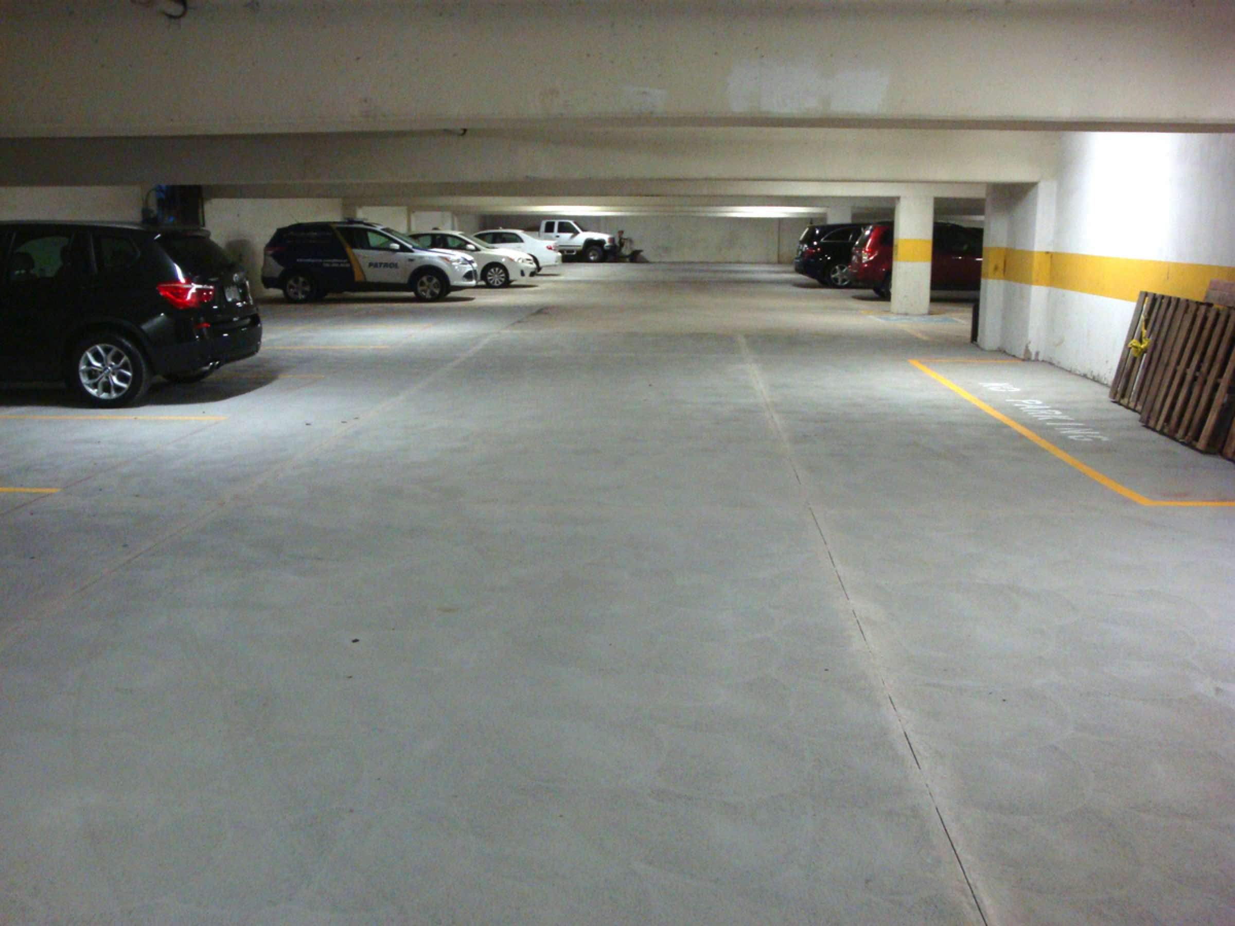 Boulder Parking Garage Sweeping