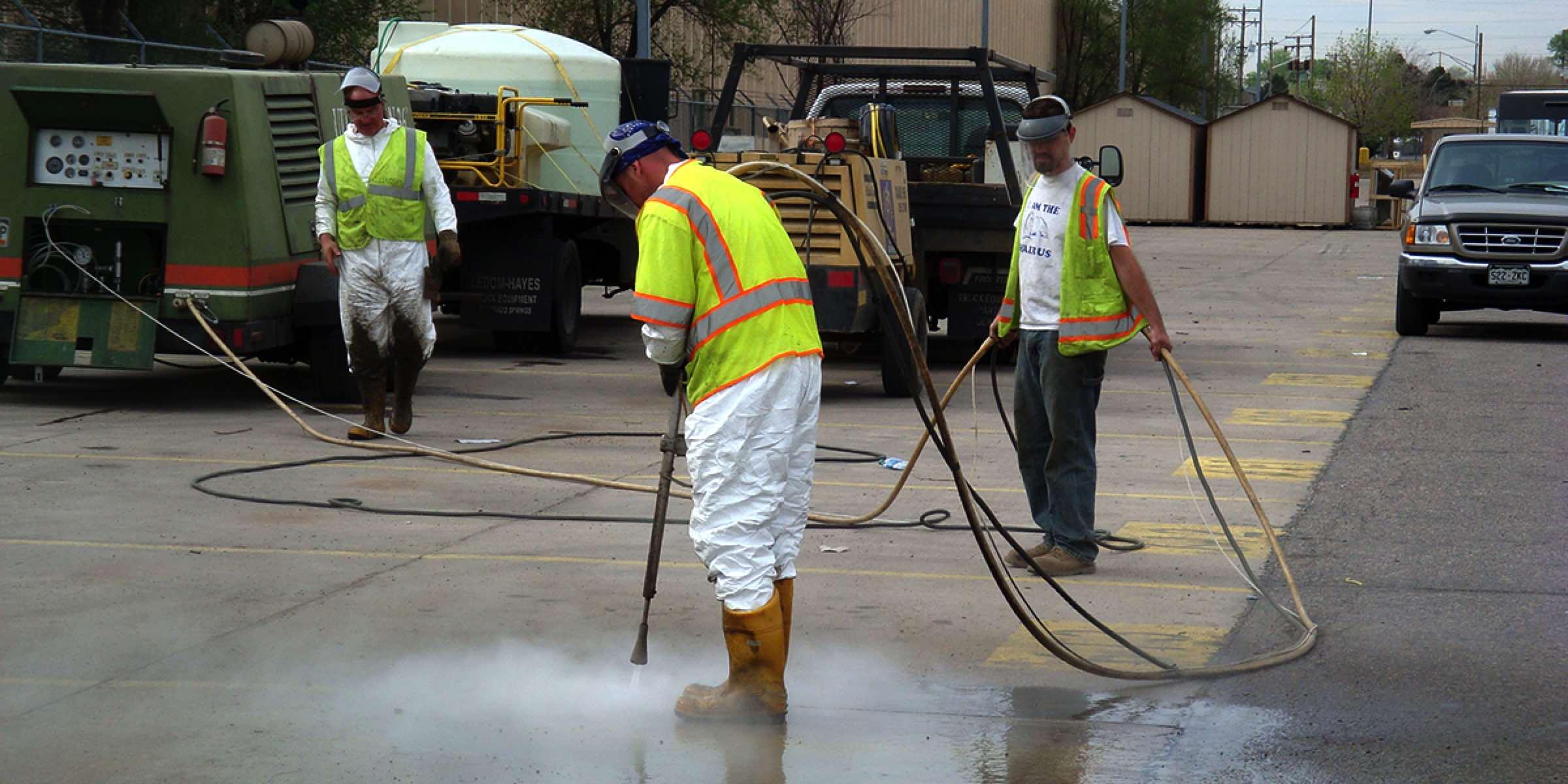 Soda Blasting Contractors
