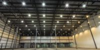Warehouse Lighting, Cleaning and Painting