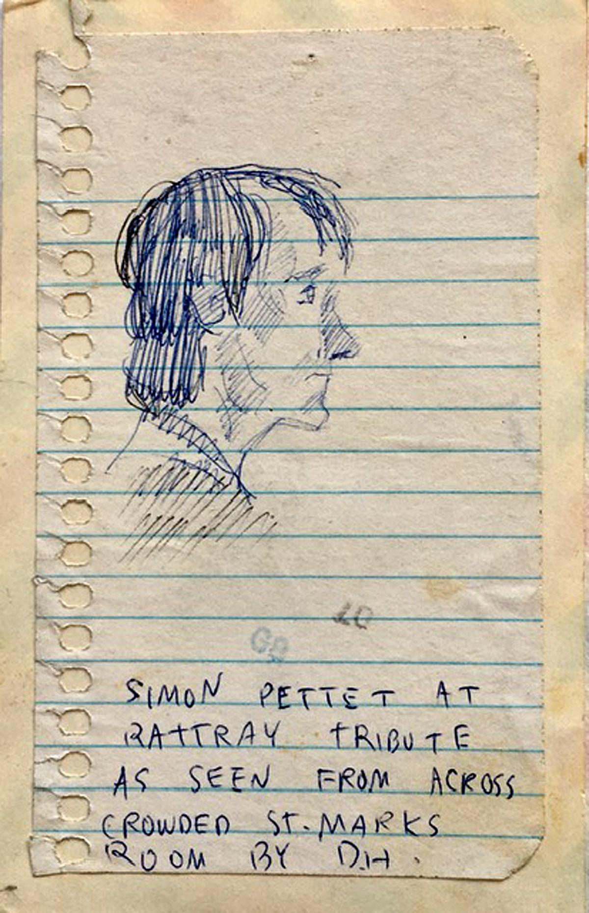 Sketch by Duncan Hannah