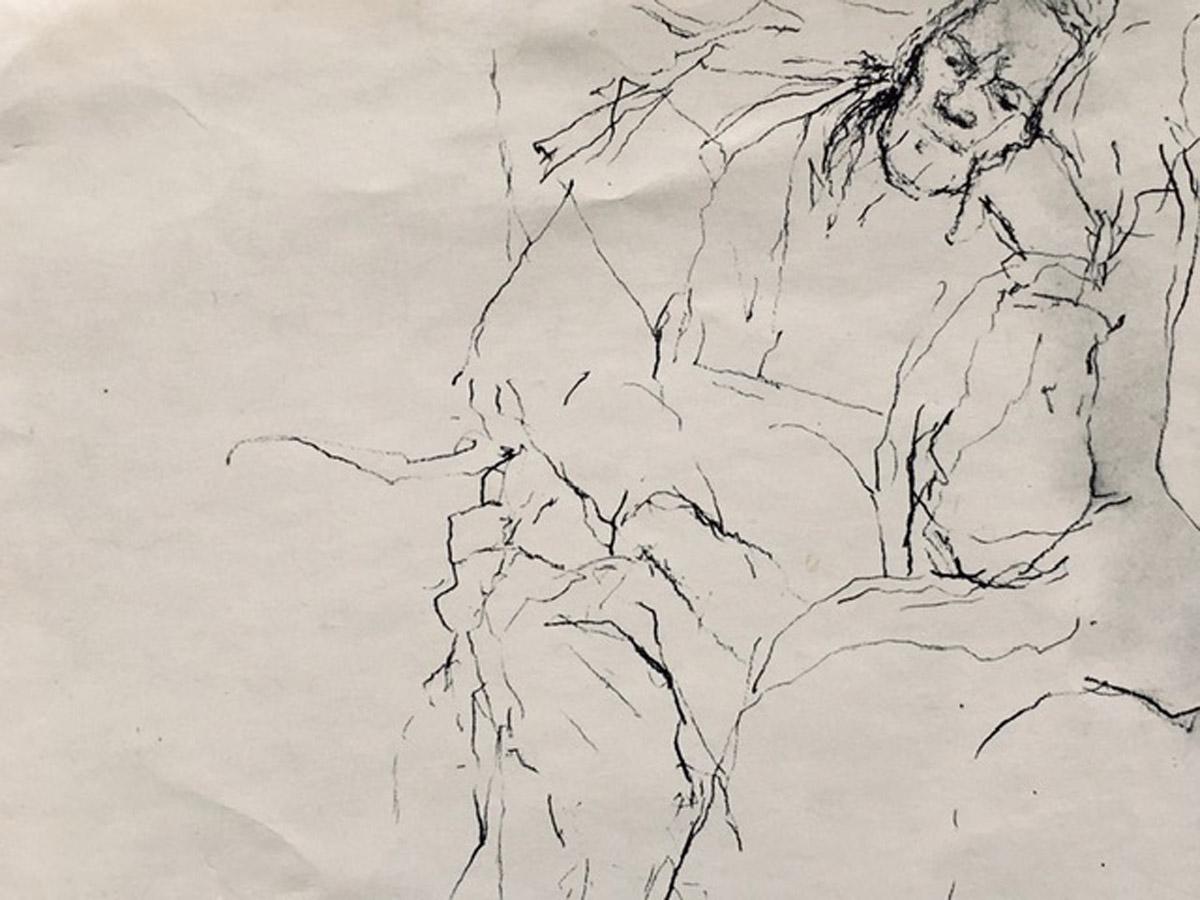 Drawing by Tina Hind
