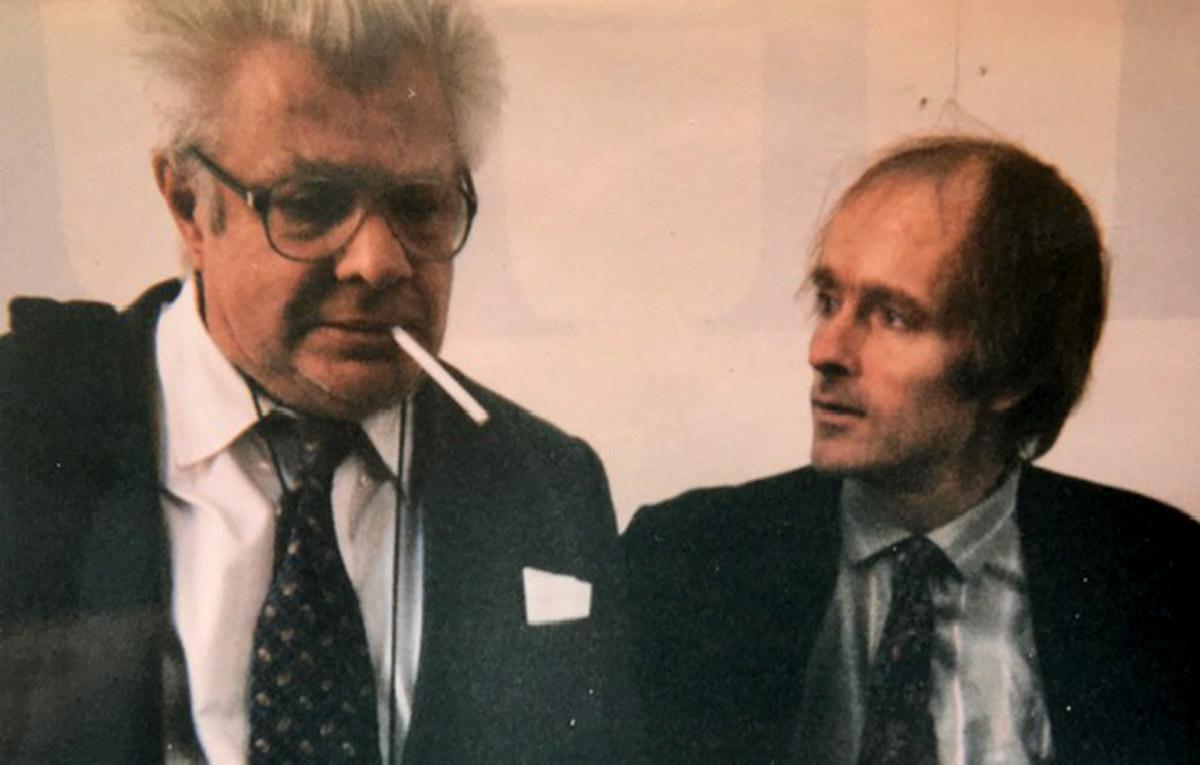 Simon Pettet with Peter Orlovsky
