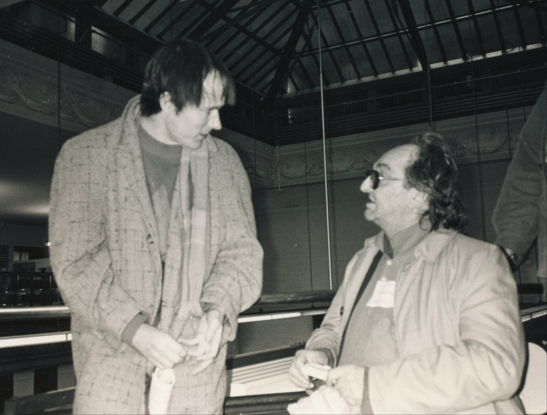 Simon Pettet with John Wieners – photo by Allen Ginsberg