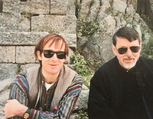 Simon Pettet and Robert Creeley