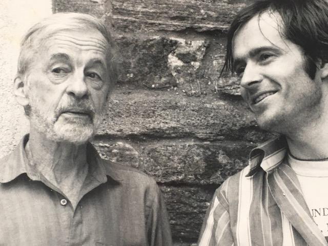 Simon Pettet and Rudy Burckhardt