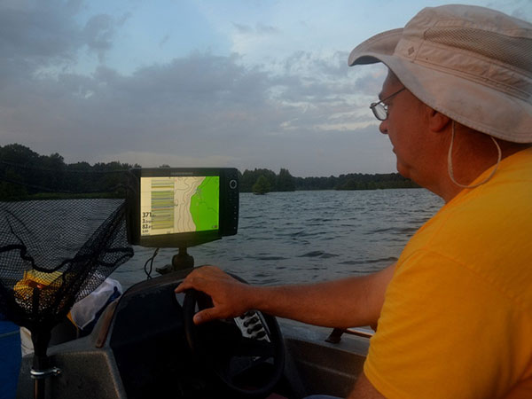 For each crappie habitat, Tony as the location recorded.