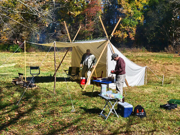 REDISCOVER THE BAKER TENT