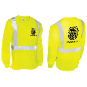 High Vis long sleeve tee