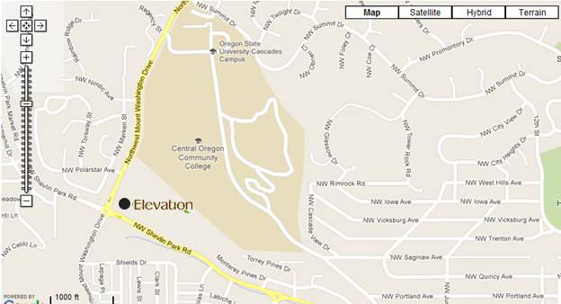 Elevation Restaurant Map - Cascade Culinary Institute
