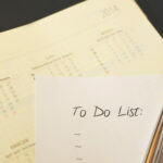 Canva - Pen on to Do List Paper