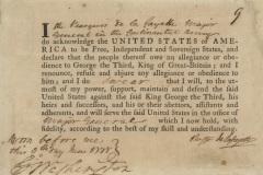 LaFayette oath of allegiance 06896_2006_001