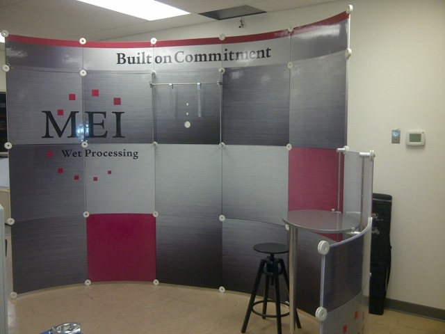 Technical Tradeshow Booth