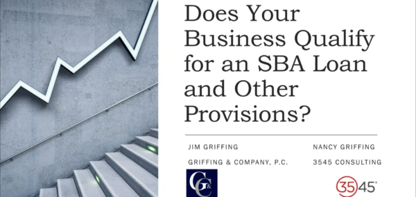 Does Your Business Qualify for an SBA Loan and Other Provisions?