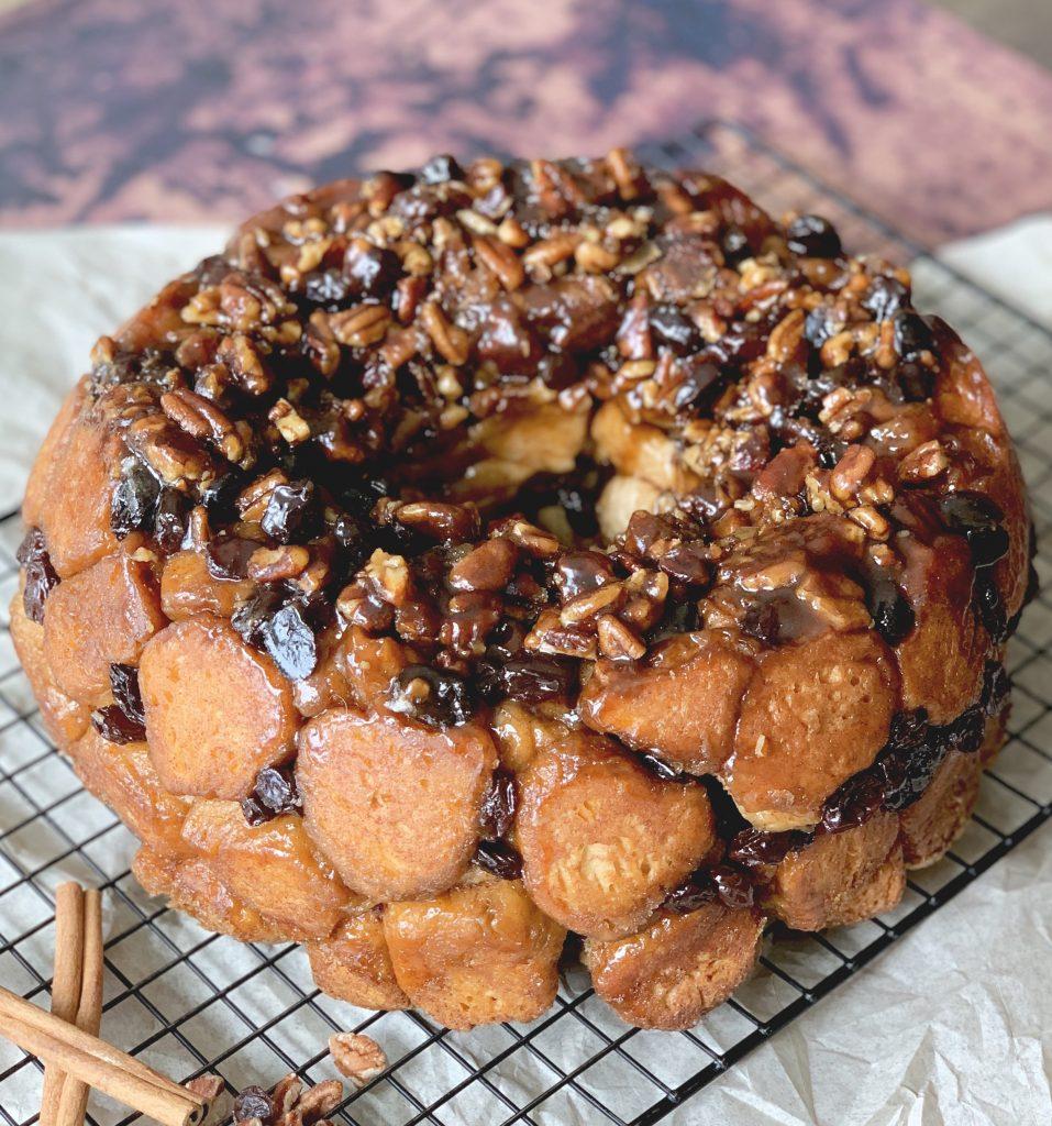 Sticky Bun Monkey Bread
