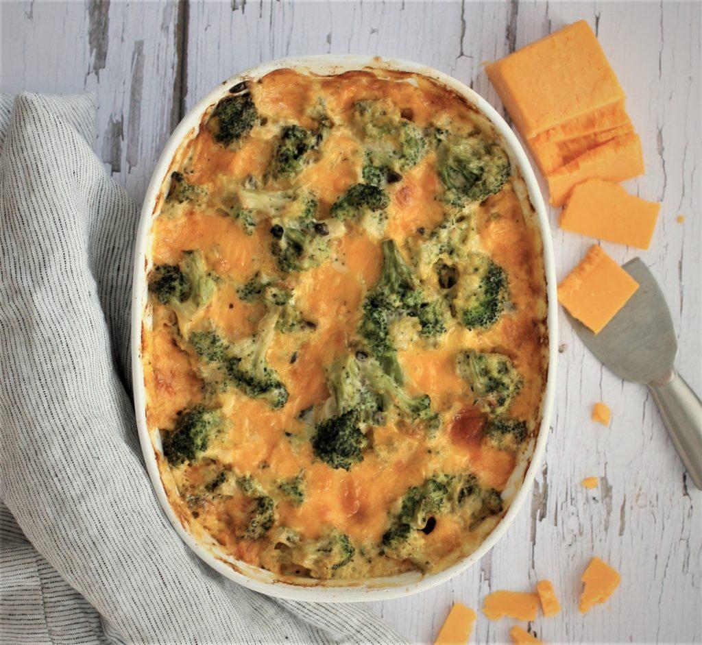 Broccoli & Cheddar Bake