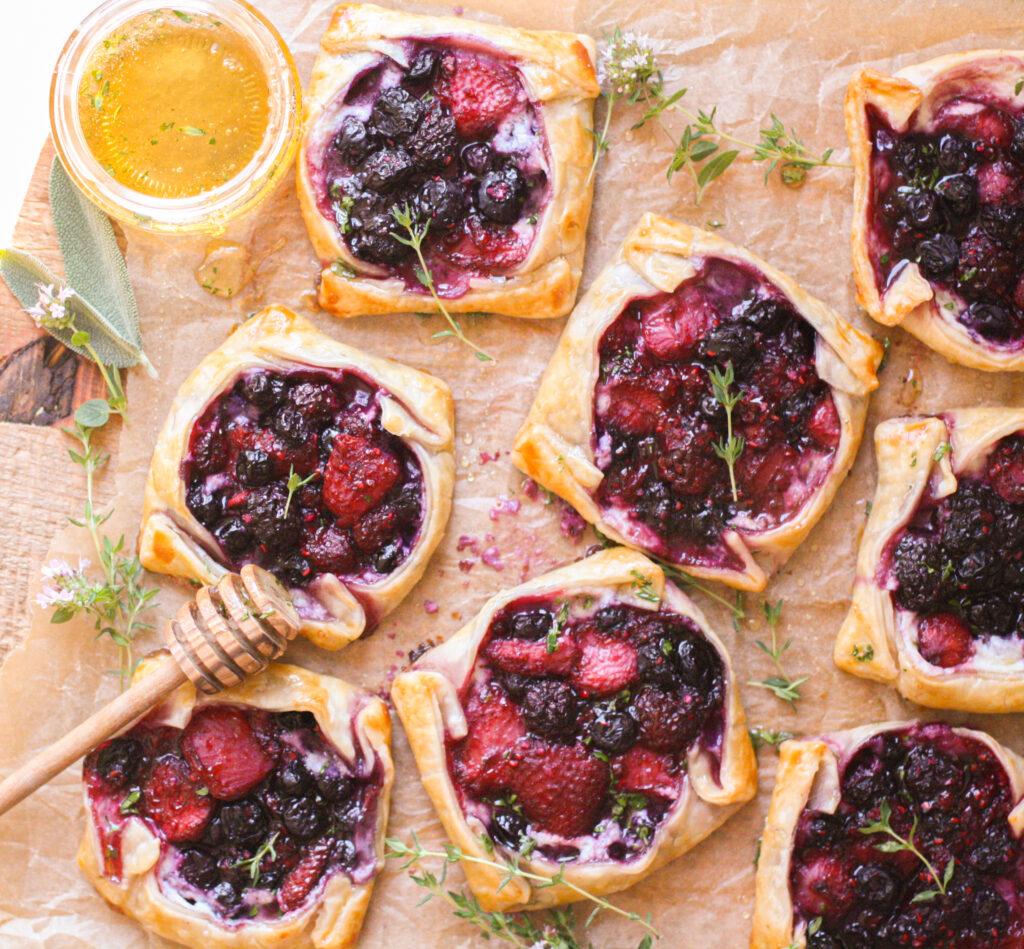 Berries & Cream Mini Tarts