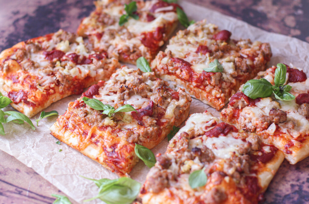 Sausage & Fennel Pizza