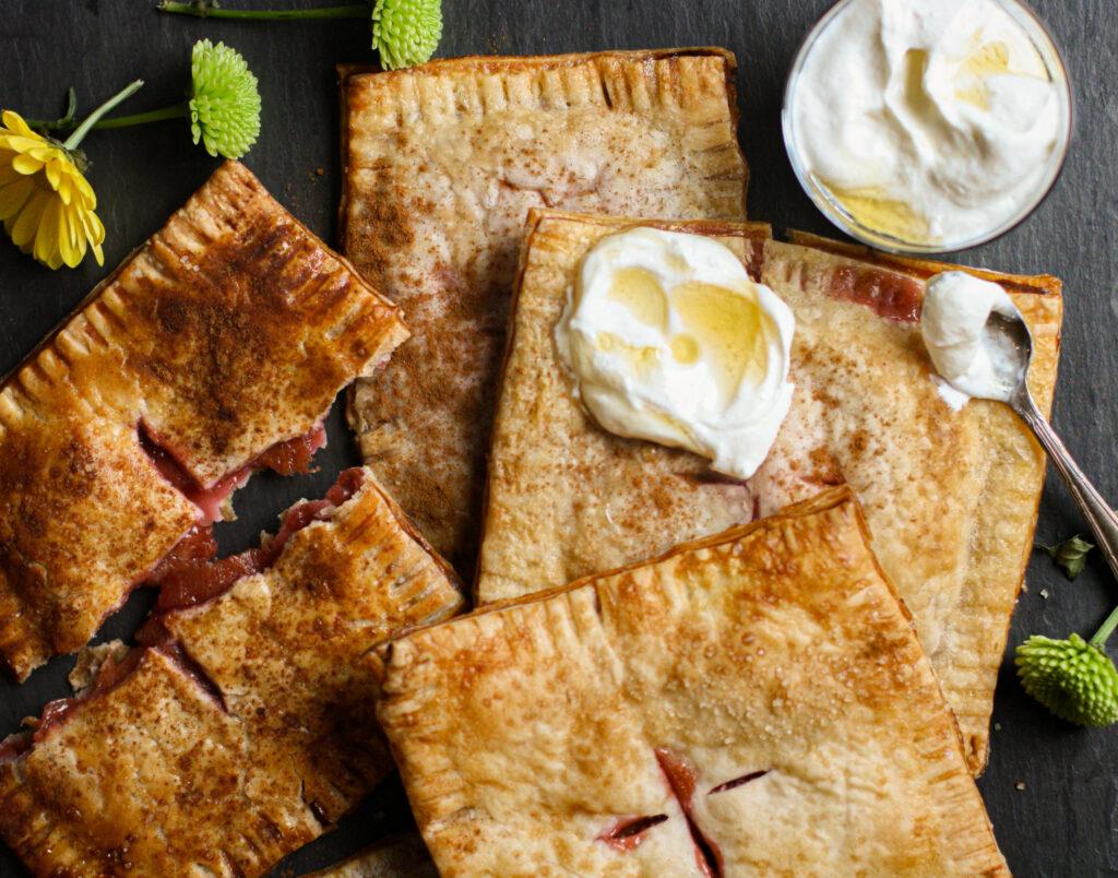 Sugar Plum Hand Pies with Honeyed Ricotta
